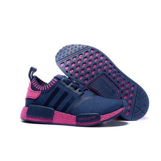 sports shoes 91dbe 21791 Adidas Originals NMD R1 Runner Primeknit Women Blue/Pink ...